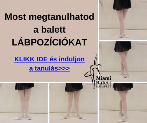 Balett Lábpozíciók