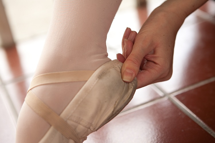 Megfelelő méret esetén, nem tudod becsípni a sarkad mögött a balettcipőt