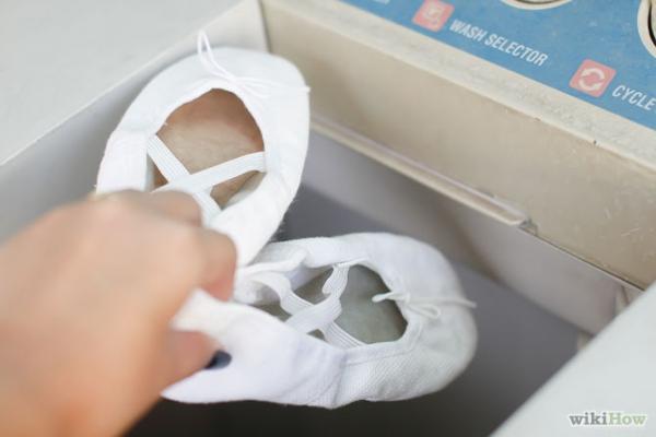 Balettcipő tisztítása