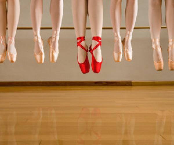 balettcipő színe